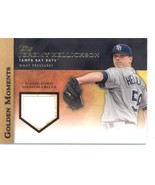 2012 Topps Golden Moments Relics #GMR-JH2 Jeremy Hellickson S2 NM-MT (Me... - $5.00