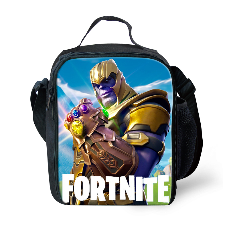 Fortnite Fort Nite Fortnight Game Lunchbox Bag Lunch Box ...