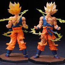 Dragon ball Z Goku Figurine 17cm by Bandai Tamashi - $34.00