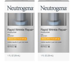 2-PACK Neutrogena Rapid Wrinkle Repair SPF 30 Moisturizer, 1 oz - $29.69