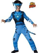 Incharacter Wild Kratts Deluxe Cheetah Blue Boys Halloween Costume 142101 - $34.99