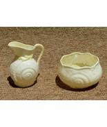 Belleek Pitcher Sugar Bowl Seashell Collection Shell Pattern Ireland 196... - $28.99