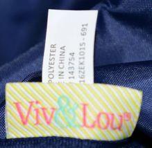 Viv Lou M440VLMIA Mia Tile Travel Bag Lime Green Pink and Navy Blue image 9
