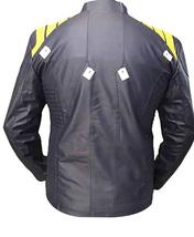Mens Star Trek Beyond Chris Pine Captain Kirk Costume Leather Jacket image 2
