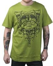 Dunkelvolk Dark Citron Green Victorious Katsumoto Peruvian Art Gargoyle T-Shirt