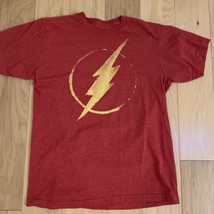 DC Comics Women's Top Size M The Flash Red Short Sleeve - $19.79
