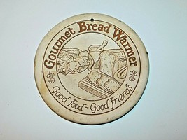 Lyn Ulick Vintage 1990 Gourmet Bread Warmer Collectible Pre-Owned Free S... - $18.95