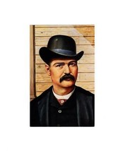 POSTCARD-FIRST Day ISSUE- Bat MASTERSON- Legends Of The West Series BK5 - $3.40