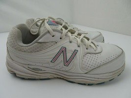 New Balance 840 Abzorb Walking Women's Shoes Size 9.5 White WW840WP - $29.69