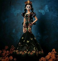 BARBIE DIA DE LOS MUERTOS MATTEL DAY OF THE DEAD SOLD OUT IN 1 DAY IN ST... - $499.99