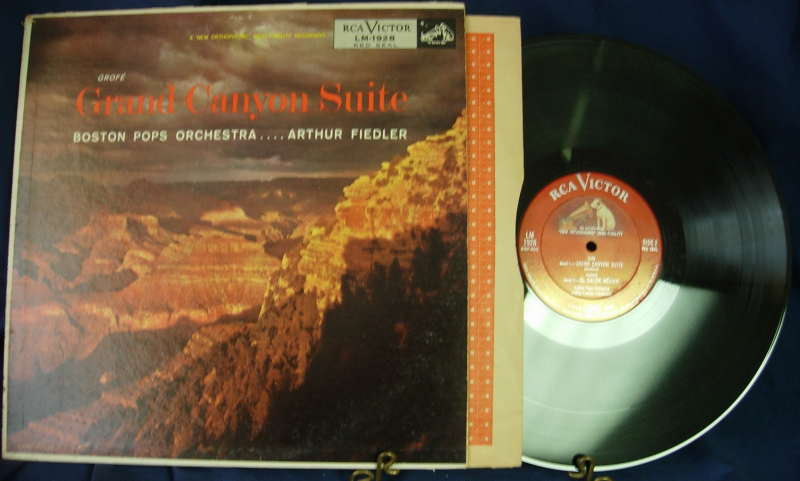 Arthur Fiedler & Boston Pops - GROFE Grand Canyon Suite - RCA Red Seal LM-1928