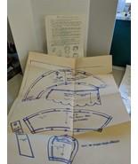 Ladies Godeys Bonnet Pattern 1856-1860 Uncut THEATER COSTUME REENACTMENT - $19.80
