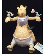 Camille the Cat Funky Farm Collection Figurine 7 inches Tall in Original... - $23.76