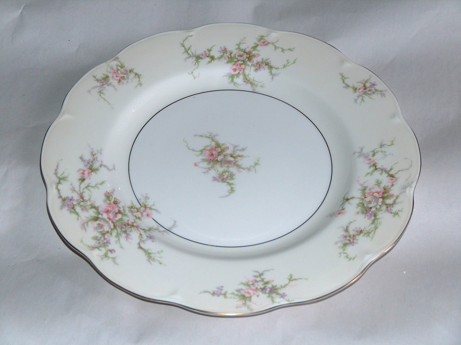 "Primary image for 1 Theodore Haviland New York 10 1/2"" ROSALINDE Replacement Dinner Plate Dish USA"