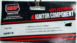 MHP IGEIB7B Weber Replacement Ignitor Component Color Black image 2