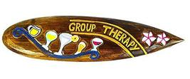 WorldBazzar Hand Carved Wooden Group Therapy Always Happy Hour Cocktails Drinkin - $19.74