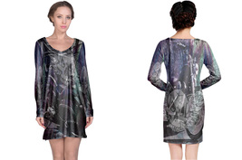 Biker Collection #2 Women's Long Sleeve Night Dress - $23.80+