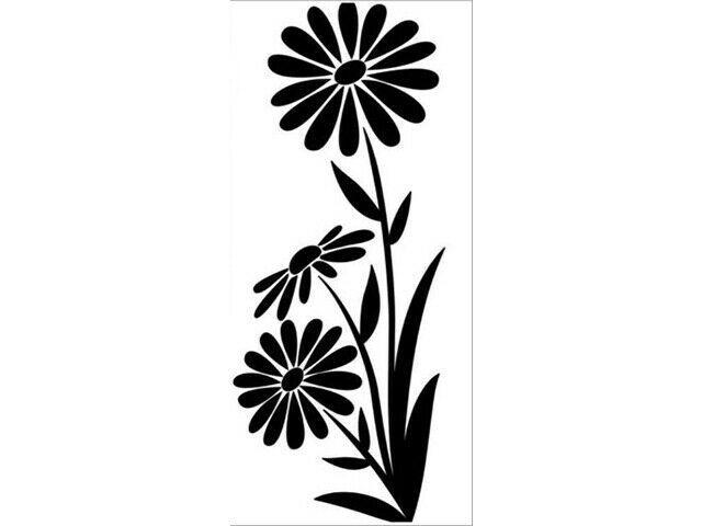 Darice Spring Flowers Embossing Folder