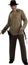 OFFICIALLY LICENSED INDIANA JONES ADULT HALLOWEEN COSTUME SIZE STANDARD - $35.07