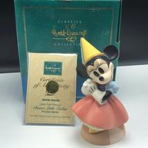 WDCC FIGURINE DISNEY figurine box coa Minnie Mouse Brave little tailor p... - $74.25