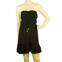 Juicy Couture Black Cover Up Beach Holidays Summer Mini Strapless Dress ... - $69.51