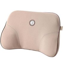 Comfortable Back Support Lumbar Support Soft Car Seat Cushion Back Brace Beige