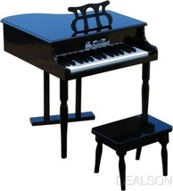 Schoenhut Kids Baby Grand Piano Black With Learning by Color System 309B - $119.99