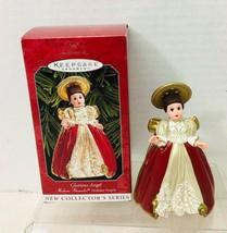 1998 Madame Alexander Holiday Angels  Hallmark Christmas Tree Ornament M... - $9.41