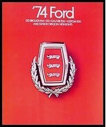 1974 Ford Prestige Brochure- Galaxie 500 LTD Brougham - $7.92