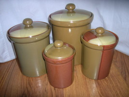 SANGO GOLD DUST SIENNA 4 CANISTER SET - $34.99