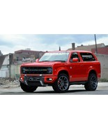 2020 FORD BRONCO (RED) POSTER 24 X 36 INCH Looks Awesome! - $18.99