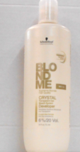 Schwarzkopf Blond Me Crystal Transparent Gel System 20 Volume Developer ~ 33 Oz - $17.44