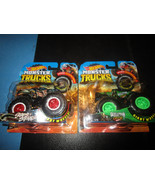Hot Wheels Monster Trucks Skeleton Crew Stars & Stripes - $11.75
