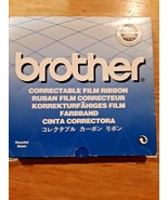 Brother Typewriter Correctable Film Ribbon Cassette 7020 Black New Old - $7.91