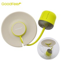 Silicone Tea Infuser Loose Leaf Strainer With Lid Herbal Filter Tea Ball... - £13.98 GBP