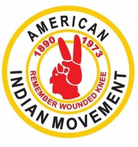 American Indian Movement Sticker / Decal R662 - $1.45+