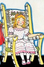 Goldilock tries Mama Bear's chair by Julia Letheld Hahn - Art Print - $19.99+