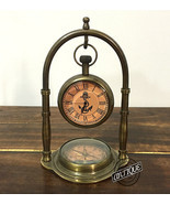Coffee Shop Table Clock Queen Victoria Furniture Office Desk Mantel Cloc... - $33.76