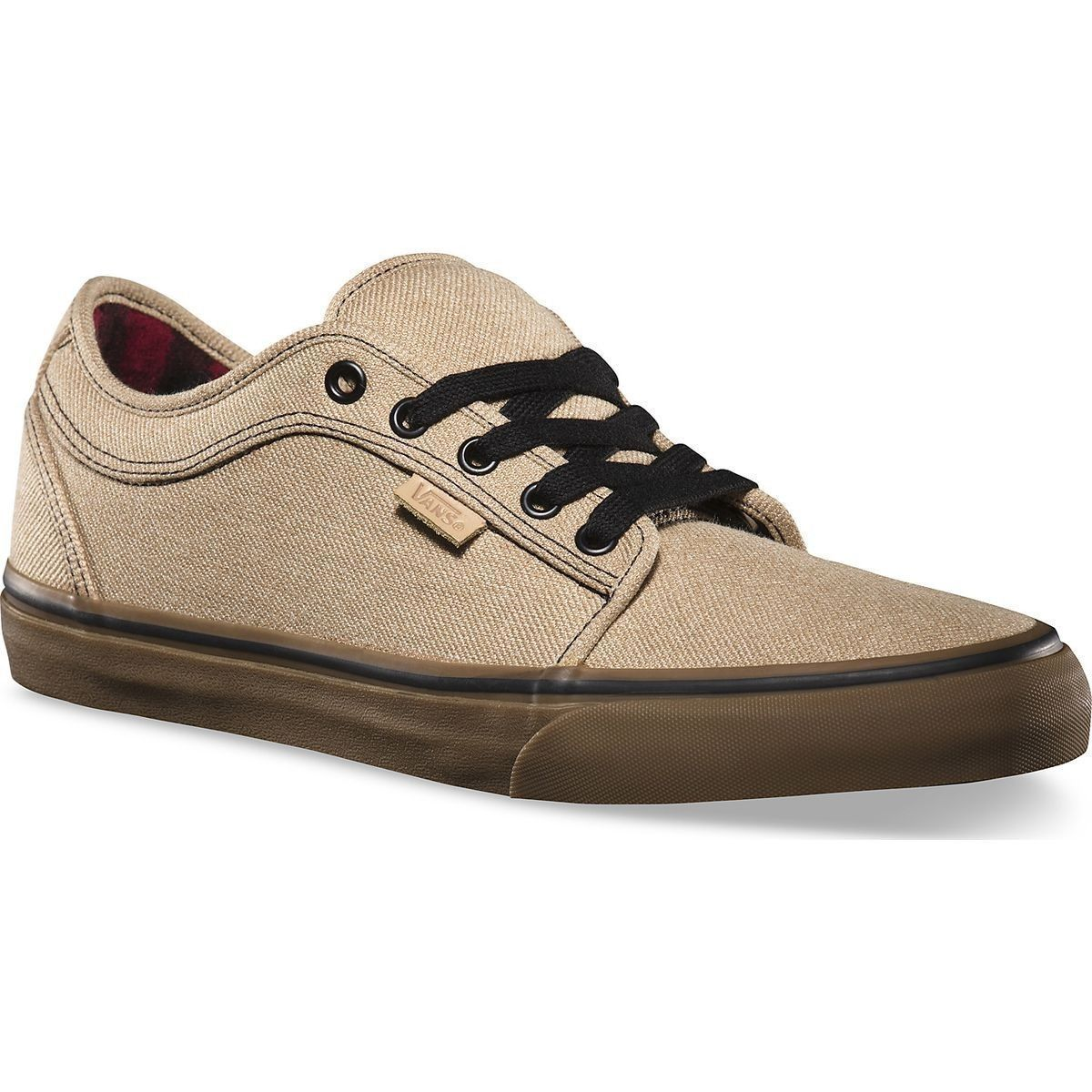 VANS Chukka Low Tan/Gum Classic Skate Shoes MEN'S 6.5 WOMEN'S 8