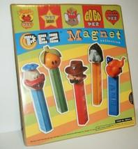 Vintage PEZ Magnets Sheriff Orange Go Go Circus Elephant Duck w/ Flower ... - $9.90