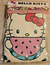 "Hello Kitty Seven20 Summer Tote Bag Canvas Watermelon 16"" x 16"" Fruit  NIP - $13.81"