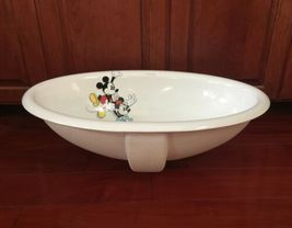 Disney Mickey Mouse Playful as a Mouse Kohler Sink RARE Minnie K2220 image 4