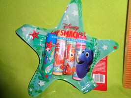 LIP SMACKER 4pc lip Balm gloss with collectible Zipper Pouch Finding NEMO DORY - $10.88