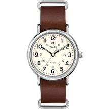 Timex Weekender® Slip-Thru - Brown Leather Strap - $53.75