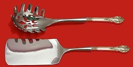 Royal Dynasty by Kirk-Stieff Sterling Italian Pasta Server Set 2pc HHWS  Custom - $127.40