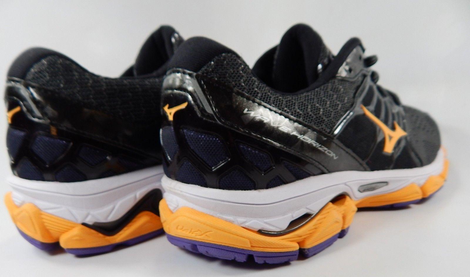 Mizuno Wave Horizon Size US 10 M (B) EU 41 Women's Running Shoes Gray Orange