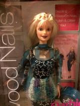 Mattel 1999 Hollywood Nails Blond Barbie Doll NIB #17857 - $17.42