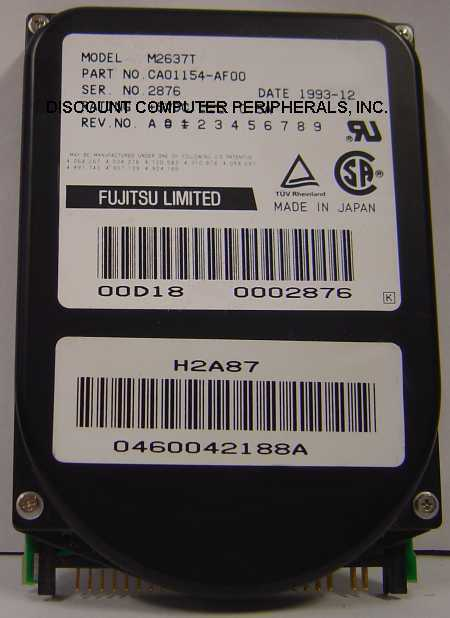 Rare Fujitsu M2637T 240MB 2.5IN IDE Drive Tested Good Free USA Shipping