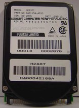 Rare Fujitsu M2637T 240MB 2.5IN IDE Drive Tested Good Free USA Shipping