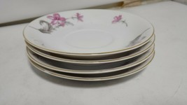 """Craftsman China Made in Occupied Japan Vintage 4 PCS Plates 5 5/8"""" -CA385 - $29.69"""